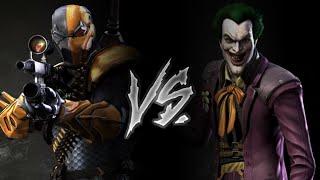 Injustice Gods Among Us - Deathstroke Vs. The Joker (VERY HARD)