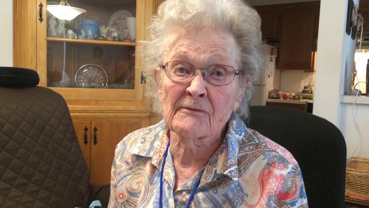 Former Navy WAVE Roberta Pendleton talks about her work in World War II