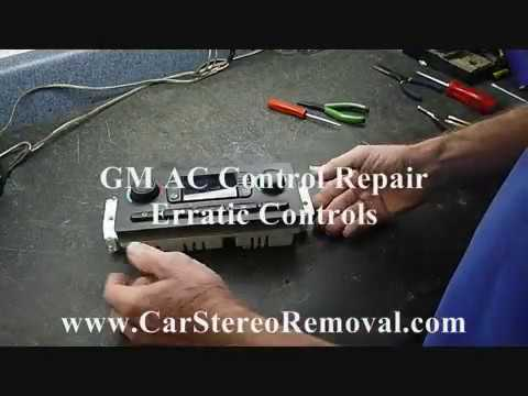 GM AC Controls – How to Repair Erratic Controls