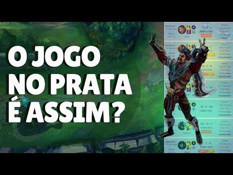 COACH DE LOL ANALISA OS JOGADORES DO PRATA E FICA IMPRESSIONADO