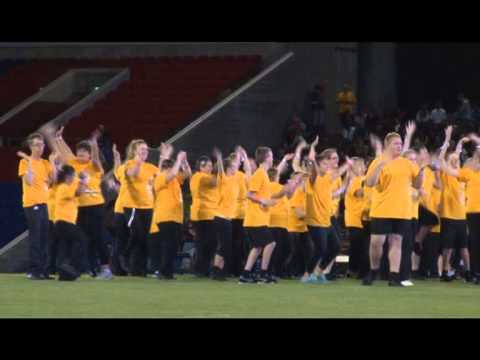 Special Olympic Performance Group in Group Dance 1 - Asia Pacific Games 2013
