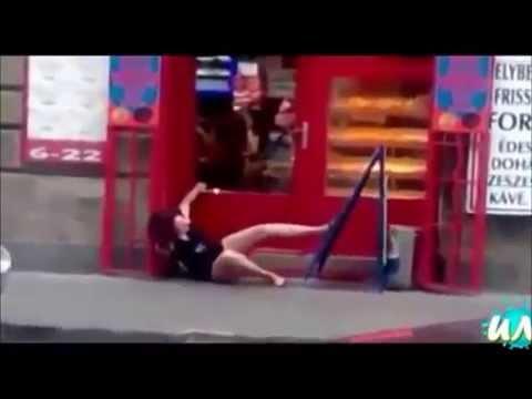海外の美女がベロンベロンに泥酔してハプニング!【放送事故】