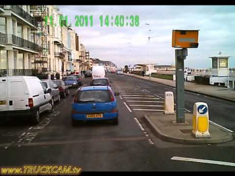 TruckCam out and about in Hastings, England Part 1