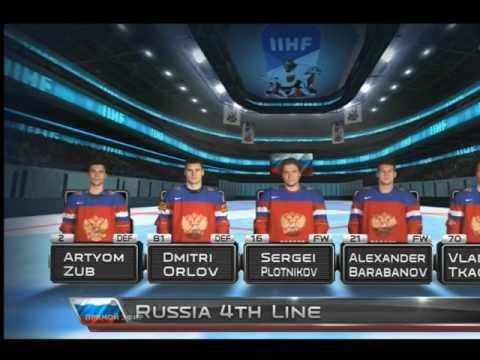 Чемпионат мира по хоккею 2017. Россия-Канада счет 0:0 Начало игры