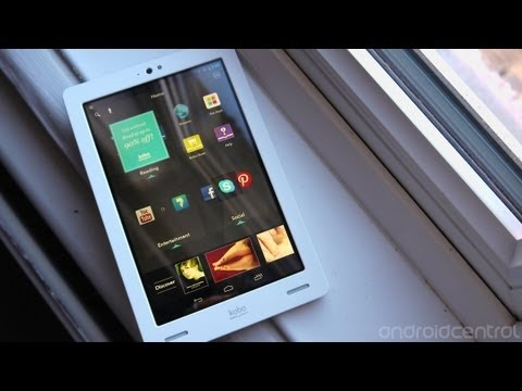 Hands on with the Kobo Arc Jelly Bean update