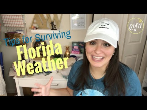 Tips For Florida Weather - Disney World Weather Tips -  CHECK DESCRIPTION FOR VIDEO UPDATES