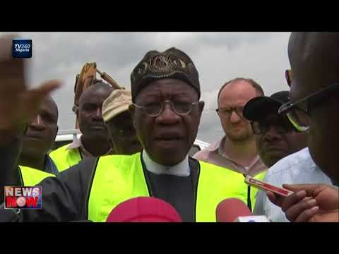 Information Minister inspects Lagos Ibadan road
