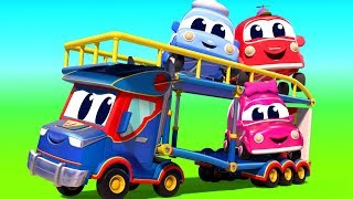 Super Truck in Car City - Truck videos for kids - Official Live