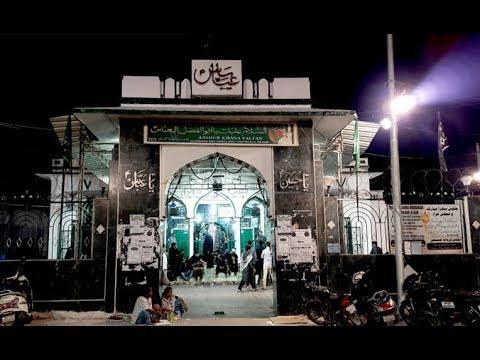 23 MUHARRAM PARWANE SHABBIR AT QILA GOLKUNDA 2018 AT SNS AZADARI CHANNEL, BAQURI