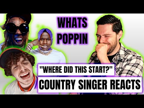 Country Singer Reacts To Jack Harlow Whats Poppin ft. Dababy, Tory Lanez & Lil Wayne