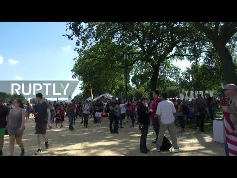LIVE: Pro-Trump 'Mother of all Rallies' takes place at the National Mall in DC