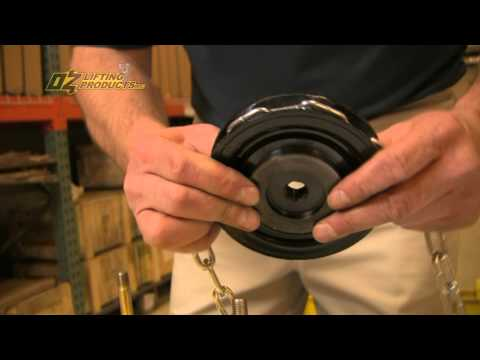 How To Assemble A Chain Hoist - Oz Lifting Products
