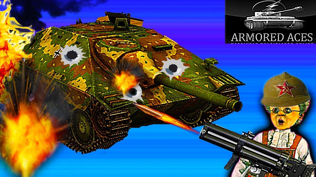 Мульт танки Armored aces 3d онлайн игра Видео для детей ...