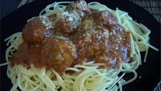 Spaghetti and Meatballs Recipe - Old Fashion