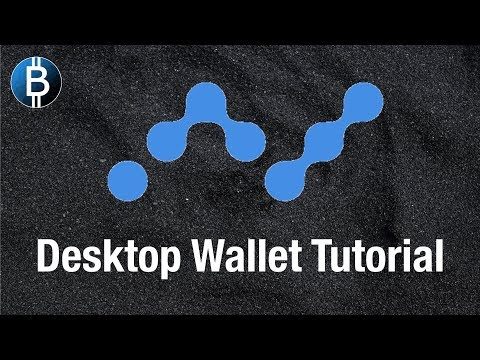 How To Use NANO Desktop Wallet.. And Quick Overview Of $NANO Cryptocurrency!