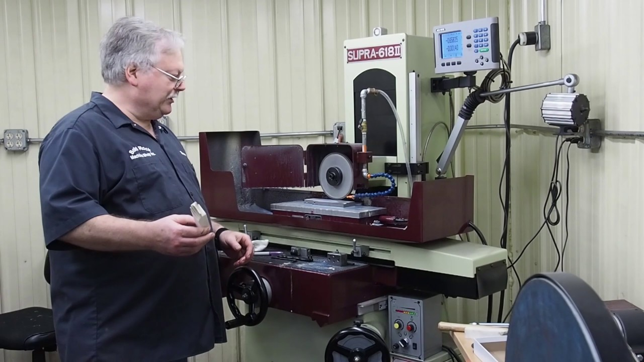 Truing And Dressing A Diamond Wheel On The Surface Grinder