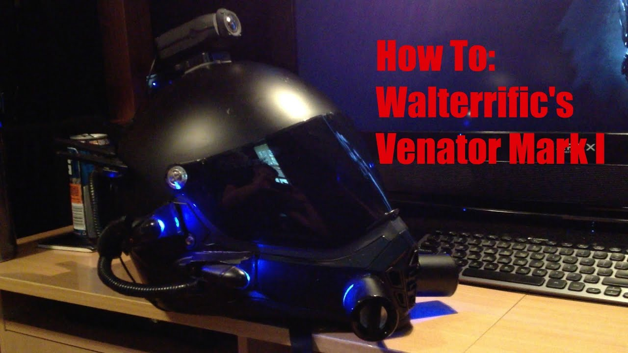 Walterrific's Venator Mark I Helmet - How To: My Version