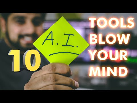 10 Crazy Free AI tools that will BLOW YOUR MIND!