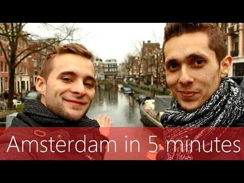 Amsterdam in 5 minutes | Travel Guide | Must-sees for your c