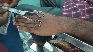 Weird Finger Massage With Scissor Finger Crack Asmr Style