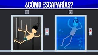¿CÓMO ESCAPARÍAS A LA MUERTE? 3 - ACERTIJOS IMPOSIBLES thumbnail
