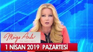 Müge Anlı ile Tatlı Sert 1 Nisan 2019 Pazartesi - Tek Parça