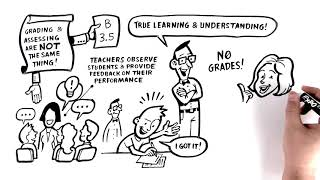Good grades, bad grades - they both lie about learning