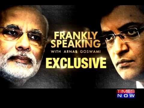 PM Modi on Frankly Speaking with Arnab Goswami | Exclusive F