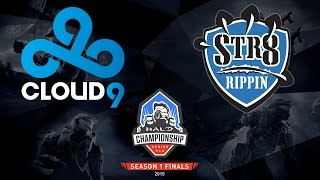 Halo - Cloud9 vs. Str8 Rippin - Halo Championship Series - Season 1 - LB R2
