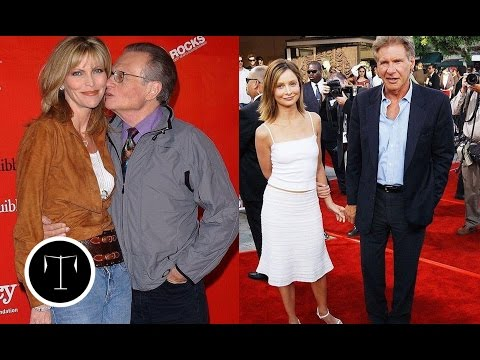10 Famous Men Who Married Much Younger Women!!