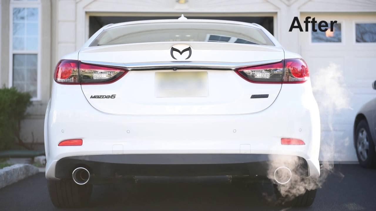2015 Mazda 6 2.5L Racing Beat Exhaust [Hi-Res Audio] - YouTube