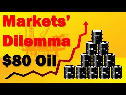 How $80 Oil Adds an Inflationary Twist to Markets