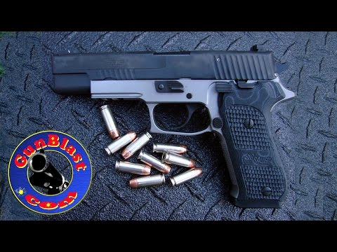 Shooting the Sig Sauer P220 Match Elite 10mm Semi-Automatic Pistol - Gunblast.com