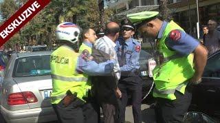 Ekskluzive - Tenton te shtype policet rrugore, arrestohet