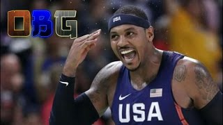 Repeat youtube video Throwback: Carmelo Anthony SCORCHES Nigeria for 37pts (8 - 2 -12) Hits 10/12 from 3!