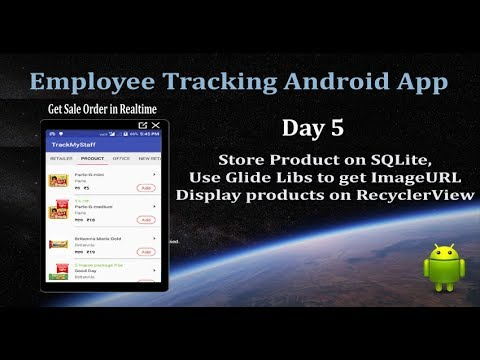 Day 5-Employee Tracking & Get Sale Order in RealTime