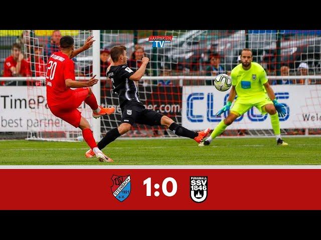 TSV Steinbach Haiger - SSV Ulm 1846 Fußball 1:0 (Regionalliga Südwest 2019/20)