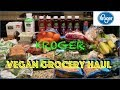 Vegan KROGER Grocery Haul  (Grocery Haul Ep. 5) || Steffanie's Journey
