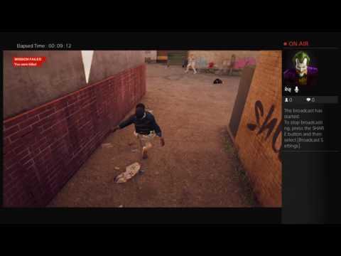 Jordan's Live PS4 Broadcast