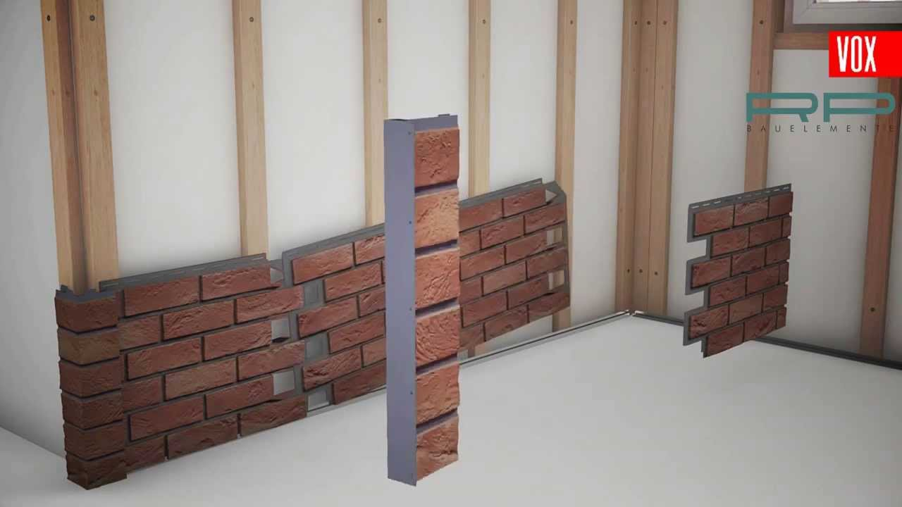 fassadenverkleidung klinker solidbrick youtube. Black Bedroom Furniture Sets. Home Design Ideas