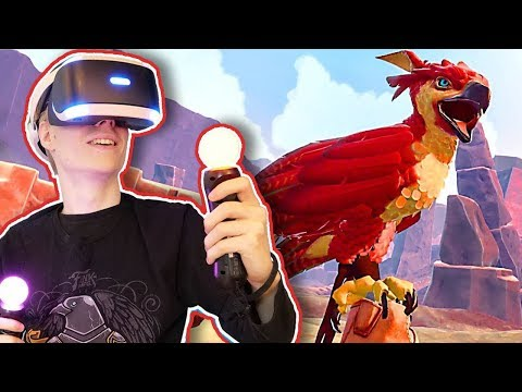 RAISE YOUR OWN FALCON IN VIRTUAL REALITY! | Falcon Age: First Look (PSVR Gameplay)