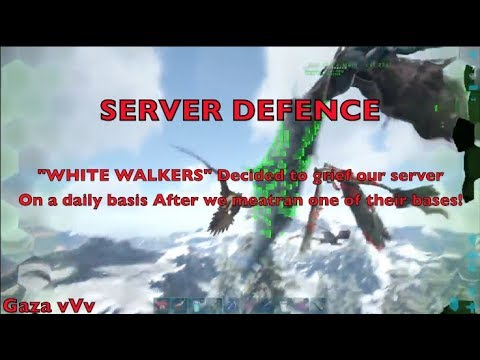 vVv - Defence Vs White Walkers ( MEAT RUNNING WHITE WALKERS)