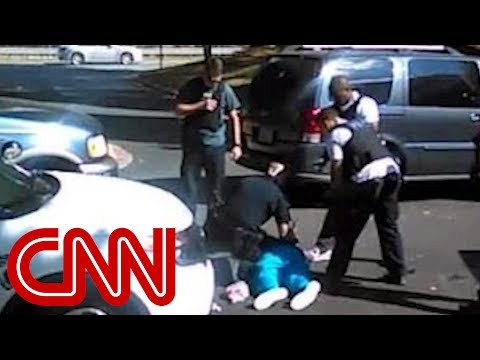 Cell phone video of Charlotte shooting
