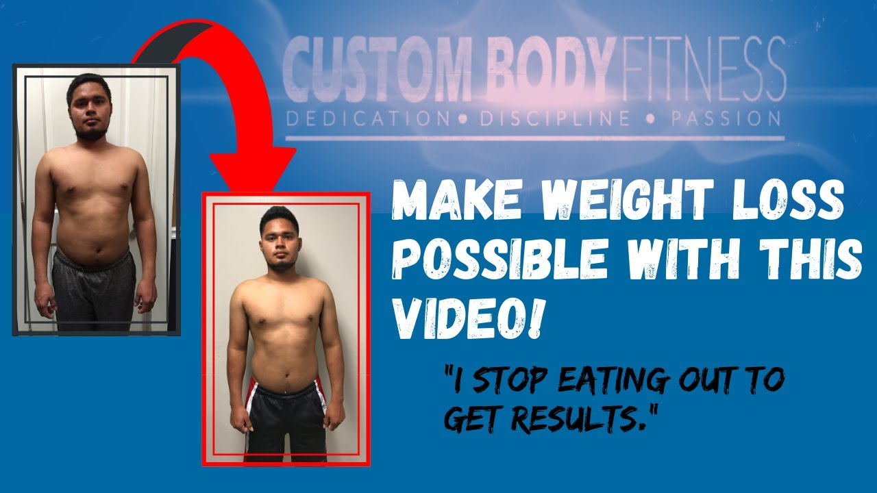 Weight Loss Case: Edwin Sanchez