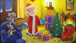 Как слепить с пластилина Деда Мороза? Мастер-класс лепим с нами, пошаговая инструкция полное видео!