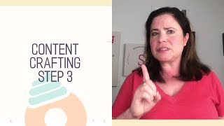 Content Crafting for a Handmade Business Step 3