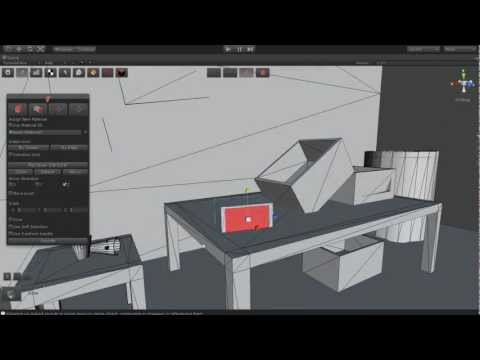 Old House ( Modeling ) Part 01 using GameDraw for Unity3D