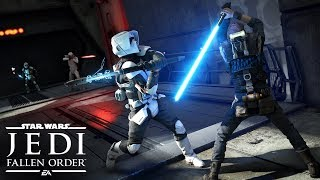 Star Wars Jedi: Fallen Order Official Gameplay Demo - EA PLAY 2019