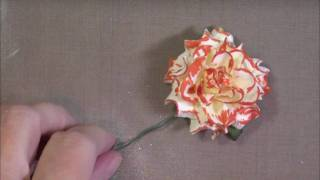 CCC Coloring Flowers with Markers