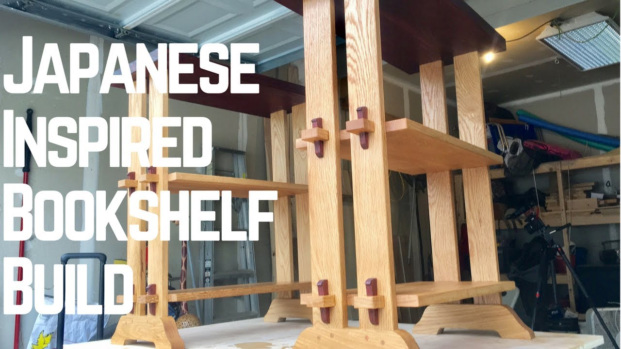 Japanese Inspired Bookshelf 3 Awesome Types Of Joinery